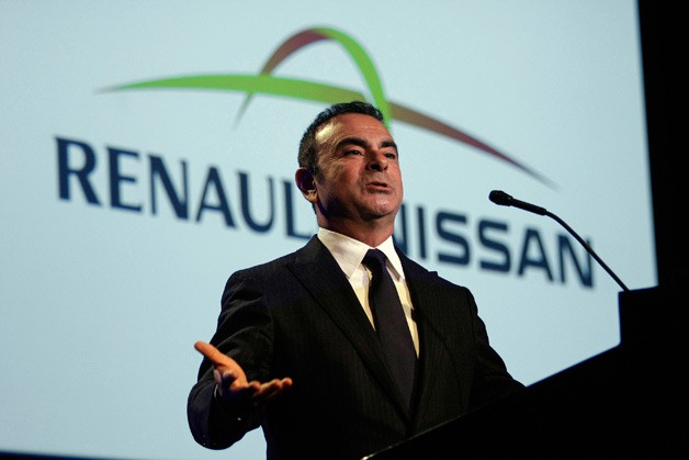 Carlos Ghosn Renault/Nissan