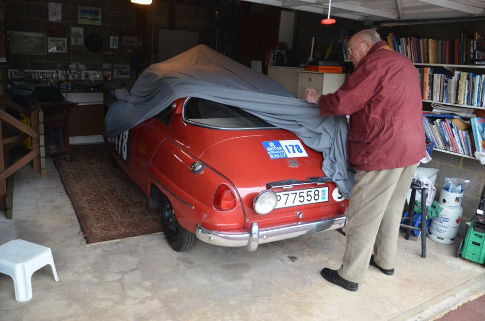 Video: Erik Carlsson In His Saab 96