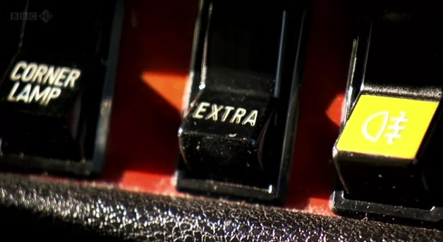 Saab 99 Extra Button