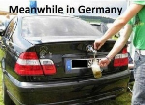 meanwhile in germany bmw beer