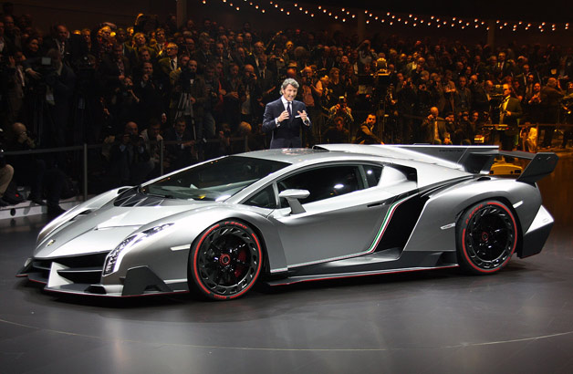 The Geneva Motor Show Has Begun With A Few Early Reveals, Mostly Courtesy  Of The VW Owned Group Of Companies. Pictures Of The New Lamborghini Veneno  Are ...