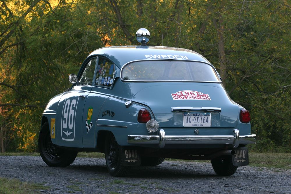 Weekend Video – Bruce Turk\'s Saab 96 2-Stroke Rally Car – Swadeology