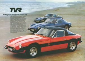 TVR Sports Cars 0203