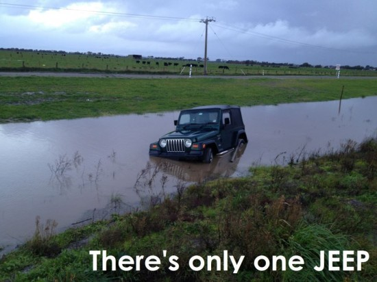 There's only one JEEP