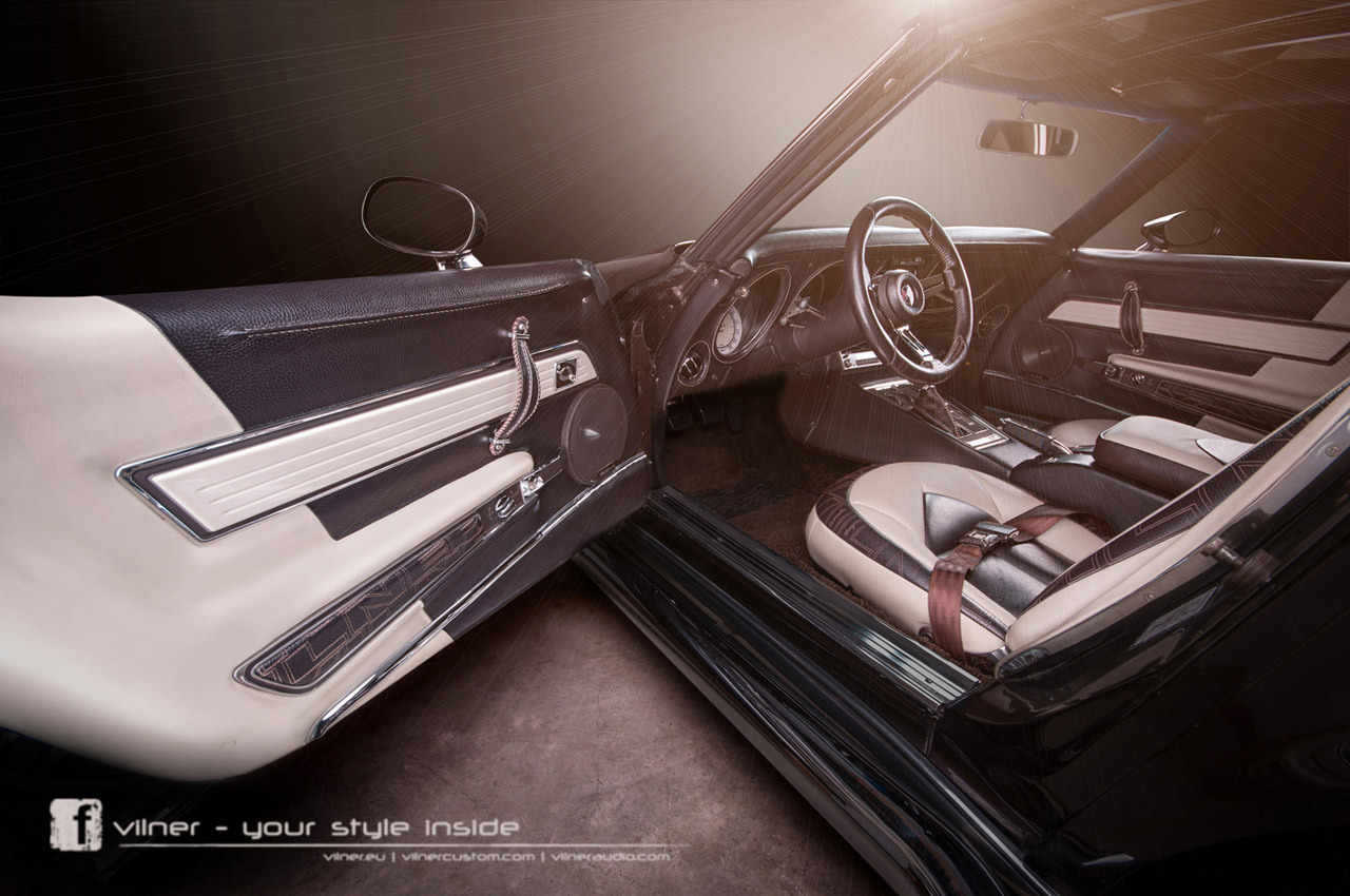 finally a c3 corvette interior that lives up to the exterior swadeology. Black Bedroom Furniture Sets. Home Design Ideas