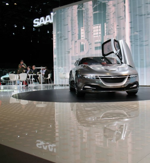 Saab at New York