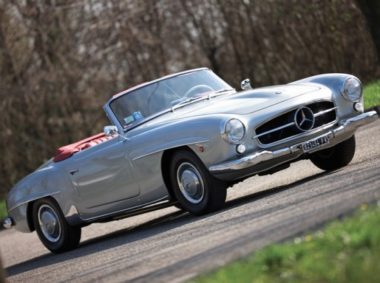 Mercedes 190 SL Roadster RM Auction