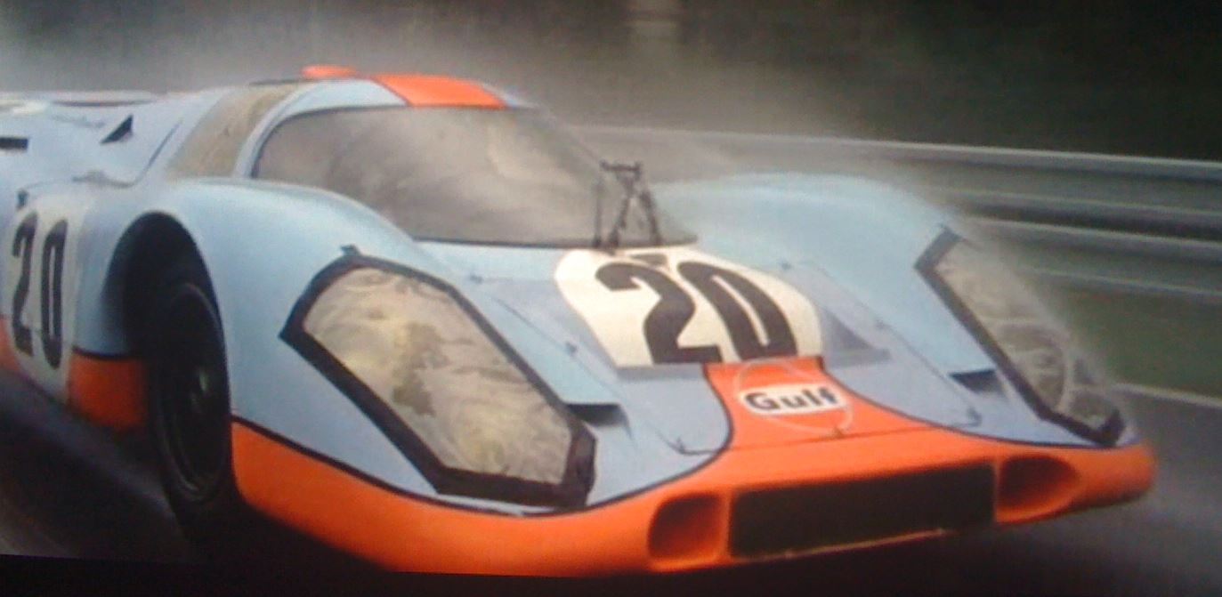 Porsche 917 From Le Mans Film To Be Auctioned