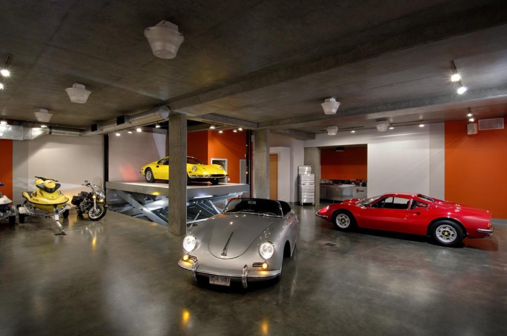 What s your ideal 4 car garage swadeology for Underground garage design plans