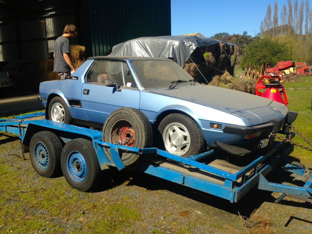 Fiat X1/9 Is ALIVE
