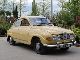 Saab 96 For The Love Of Cars.