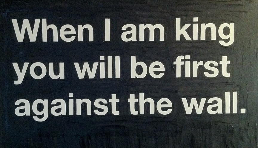 When I Am King…….