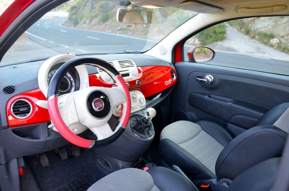 Verwonderend Fiat 500 interior – Swadeology CY-59